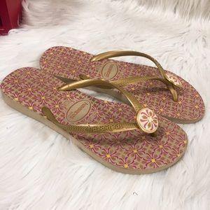Havaianas Flip Flop Sandal Women Size 6